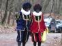 5 dec 2015 - Zwarte Pieten verrassen vrijwilligers