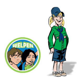 Kamp, welpen (meisjes) @ Guithégro | Nunspeet | Gelderland | Netherlands